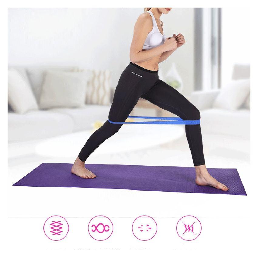 banda de resistencia para yoga entrenamiento y otros suministros gimnasio Banda de resistencia grande yoga equipo de fitness en el hogar