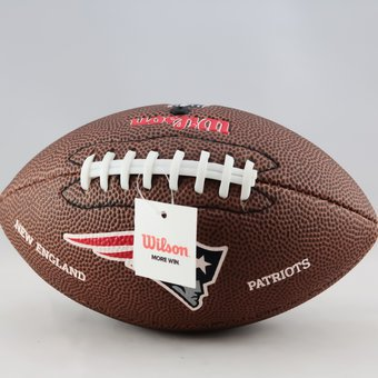 a11e7f970cb0b Compra Balon Wilson De Futbol Americano Patriots Wtf1533xbne - Cafe ...