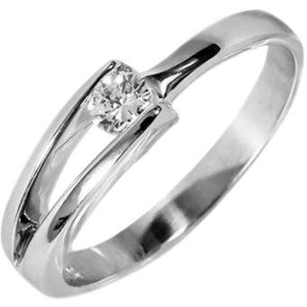 d45499653c2c Anillo De Compromiso Solitario Diamond Desing Diamante Natural 10 Puntos  Con Montadura De Oro Blanco De