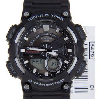 34298c0b5ce2 Compra Reloj Casio Aeq-110w 1a Para Caballero Deportivo En Resina ...