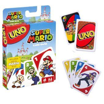 Compra Uno Super Mario Cartas Uno Juego De Mesa Online Linio Peru