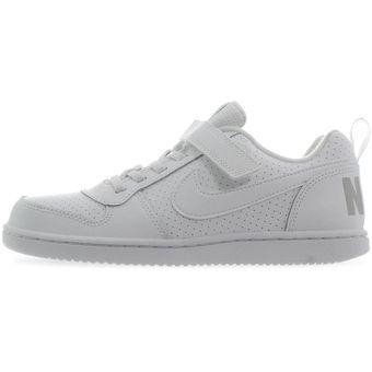 zapatos nike niños blancos