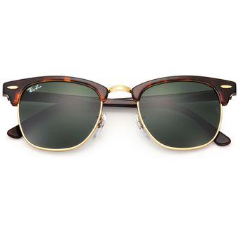 4566a8fad5c3b Ray Ban Clubmaster 3016 W0366 Marco Carey - Lente Verde 51mm Gafas De Sol  Italianas