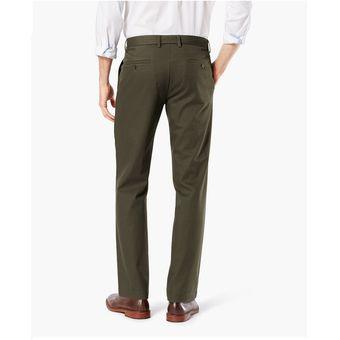 45c08f551893 Dockers - Pantalón Clean Slim Verde Olivo