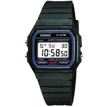 a911ce53b Compra Reloj Casio Retro F-91W-Negro online | Linio México
