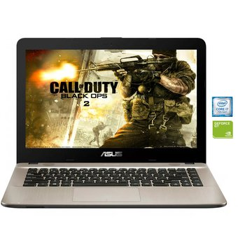 Portátil Asus X441UV Fa267 Intel Core I7 7500U Ram 4GB 1 Tb NVIDIA 920MX-Negro