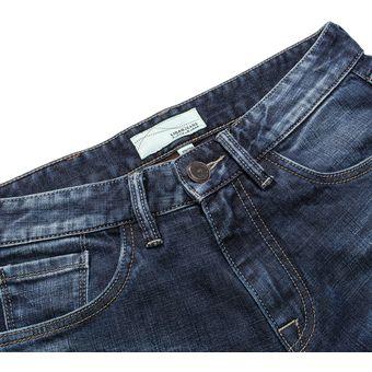Ligao Slim Fit Elastic Jeans Casual Para Hombre Agujeros Pantalones Sueltos Rectos Pantalones Linio Peru Ge582fa0aic15lpe