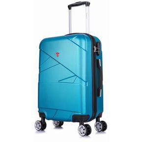 01d80596a Maletas de Viaje 51 cm Duras con 8 Ruedas Azul - NIPA