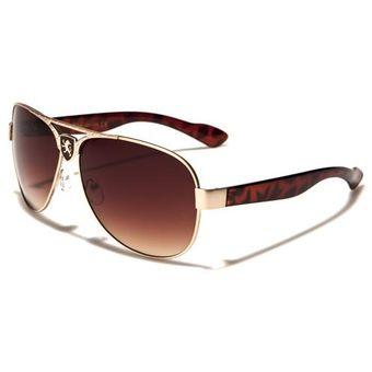 376ea7c50c Gafas De Sol Estilo Carrera Filtro Uv 400 Lentes kn1198e Café