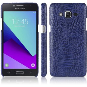 d30fedb7156 Funda De Cocodrilo Textura Protectora Delgado Anti-Scratch PC Caso Case  Para Samsung Galaxy Grand Prime Plus / J2 Prime -Púrpura