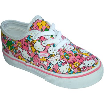 Compra Zapatilla Vans Authentic Hello Kitty - Rosado online  8533045925b