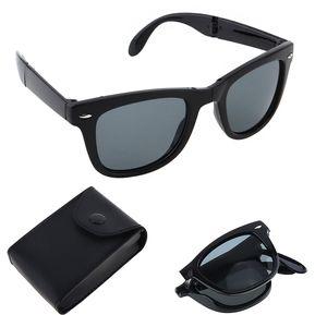d16fac65d9 Moda Plegable Anti-UV Gafas De Sol A Prueba De Explosiones