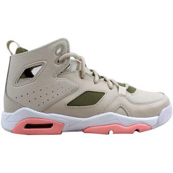 cheap for discount 2baf5 cefde ... usa tenis de niños nike air jordan flight club 91 555333 101 marrón  6e611 9db34