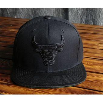 871189df58897 Agotado Mitchell And Ness - Gorra Para Hombre NBA Chicago Bulls - Negro