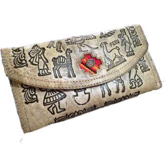 a767a3b96 Compra Billetera De Cuero Para Mujeres - Diseños Peruanos online ...