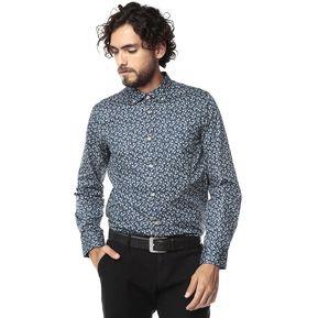 787f997886 Camisa Manga Larga Jones Para Hombre Color Siete