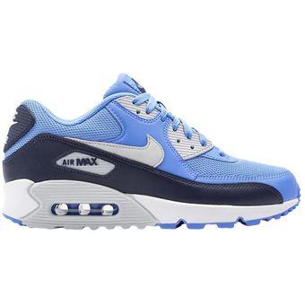 9e2ba5e33107f Compra Zapatos Deportivos Hombre Nike Air Max 90 Essential-Azul ...