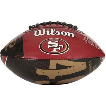 f3058cd0d45ff Compra Balón Futbol Americano Juvenil Team San Francisco Wilson ...