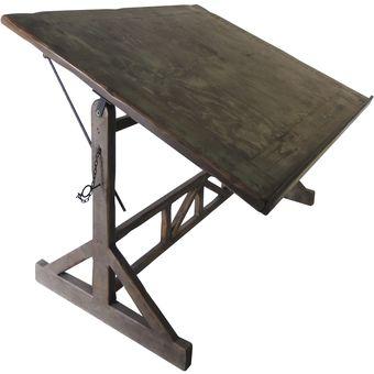 Compra restirador de madera milan vintage home designe for Restirador de madera