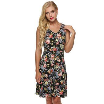 329b90383f168 Compra Meaneor Vestido Casual Para Mujer-Negro online