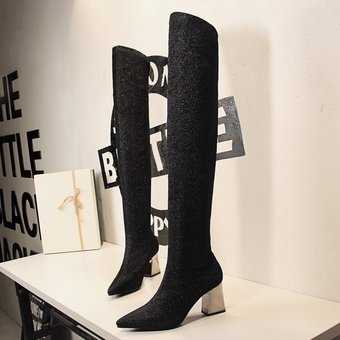 6d8d47eec4 Compra Botas Largas para Mujer Tailun-Cool -Negro online