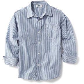 29a4d18612e42 Camisa Manga Larga Old Navy Para Niño Estilo  118306 Rayas