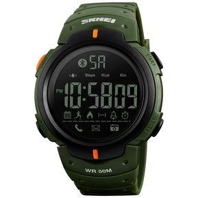 0b7f60a4f1af Reloj deportivo multifuncional impermeable a prueba de agua.