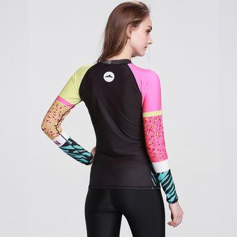 303bb497862ad Compra Bañadores Mujer Camisetas Surf Traje De Baño Manga Larga ...
