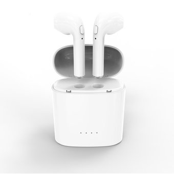 9f0cc6acca5 Cod.016 Audifonos Bluetooth i7S TWS/Tipo Iphone / con base de carga ...