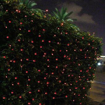 c8479861f25 Agotado Luces Navidad Solares Ecológicas 100 LED 15 Metros Decoración - Rojo