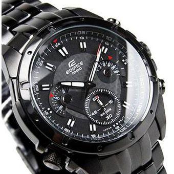 6b4f96fe3218 Compra Casio - Reloj Analógico Hombre Edifice EF-535BK-1AV - Negro ...
