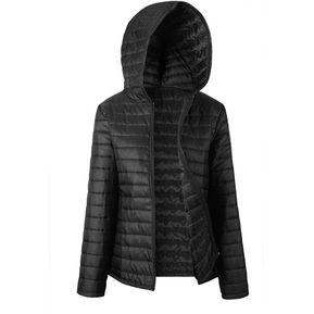 64f8ddb2af9 Otoño e Invierno Manga Larga Chaqueta Cómoda caDiamantecha cremallera Coat  ropa Negro