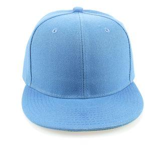 2ab12a3a39f1f Gorra Plana Snack Pack Unicolor Azul Claro Original