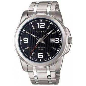 1e7a8ad72909 Compra Reloj Análogo Hombre Casio Mtp-1314d-1a - Pulso Metálico ...