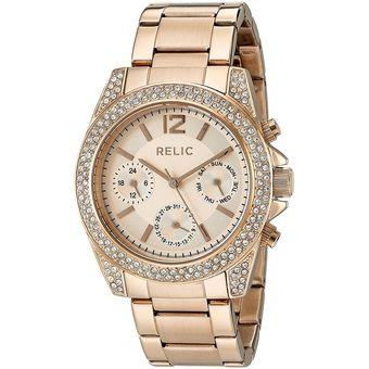 chic clásico color rápido más vendido Relic - Reloj Jane Quartz Stainless Steel Casual ZR15824 Para Mujer