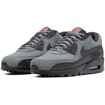 compensar Goma Acelerar  Zapatillas De Hombre Nike Nike Air Max 90 Essential-Gris | Linio Perú -  NI485SP0ESNLYLPE