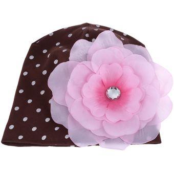 Compra Cute Babies Solid Dot Print Flowers Cotton Princess (Cafe ... e07d5acdc5d
