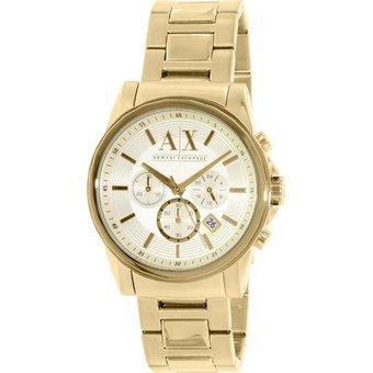 5bbde9906abb Compra Reloj Armani Exchange AX2099 Para Caballero - Dorado online ...