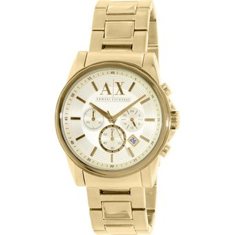 34f363c95a9d Compra Reloj Armani Exchange AX2099 Para Caballero - Dorado online ...