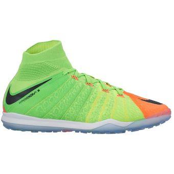pretty nice 7a69b e6fb8 Agotado Zapatos Fútbol Hombre Nike HypervenomX Proximo II DF TF -Verde Con  Naranja