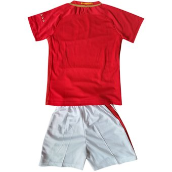 Conjunto De Camiseta Y Pantalones Corto De Fútbol Para Niños - Evergrande 0b2bbce4463b5