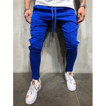 Pantalones De Pernera Recta Urbanos Slim Fit Para Hombres De Ee Uu Pantalones De Corredor De Mis Linio Peru Un055fa01ffn7lpe