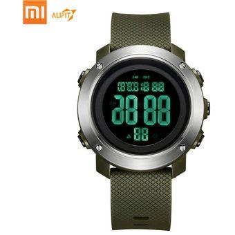 venta caliente online c92e0 48911 Xiaomi ALIFIT reloj digital reloj deportivo resistente al agua-Verde