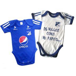 Set Ropa Para Bebe Bodys Millonarios De Millos Baby Monster 4d625ac34db