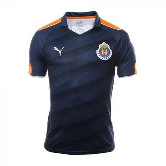 Compra Jersey Puma De Las Chivas De Guadalajara De Visitante-Azul ... 20503abeb74