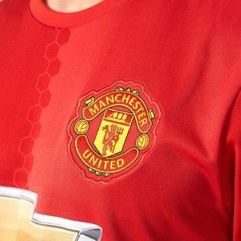0c932f26a9 Compra Camiseta Adidas Manchester United Oficial 2016 2017 Local ...