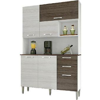 Kit mueble para cocina 191x122x38 cm PARANA