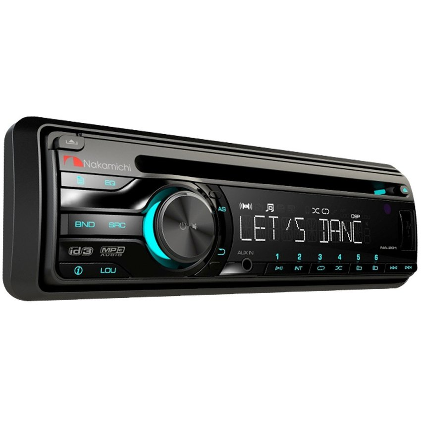 Autoestereo Nakamichi Na-205 Usb Aux Bluetooth Cd Am/fm Mp3