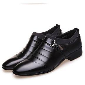 71dd07ab1e Tamaño La Manera Boda Cuero Zapatos De Lujo De Los Hombres Del Invierno De  Alta Calidad