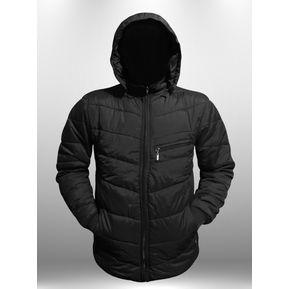 c6cf6aa8786 Chaqueta Abrigo Termica Impermeable Invierno Hombre Caballero Ganesh A019 -  Negro